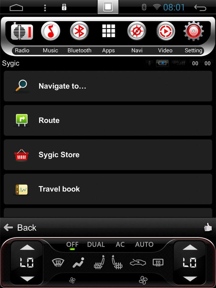 tesla vertical screen android headunit autoradio car
