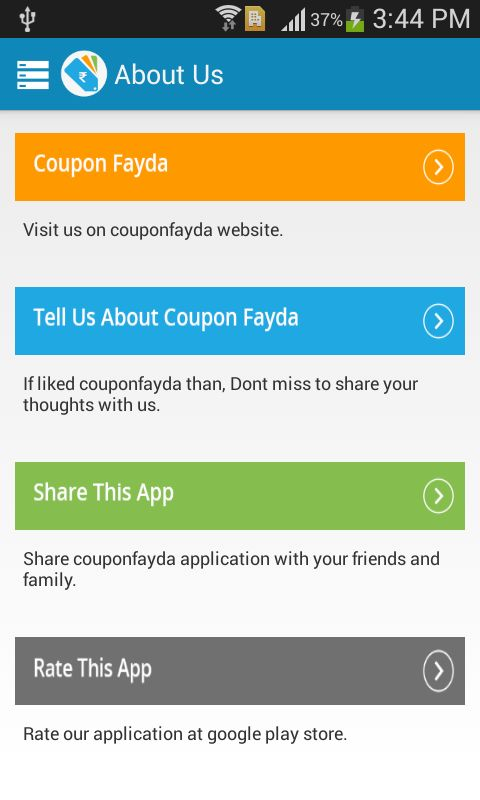 Coupon Fayda - screenshot