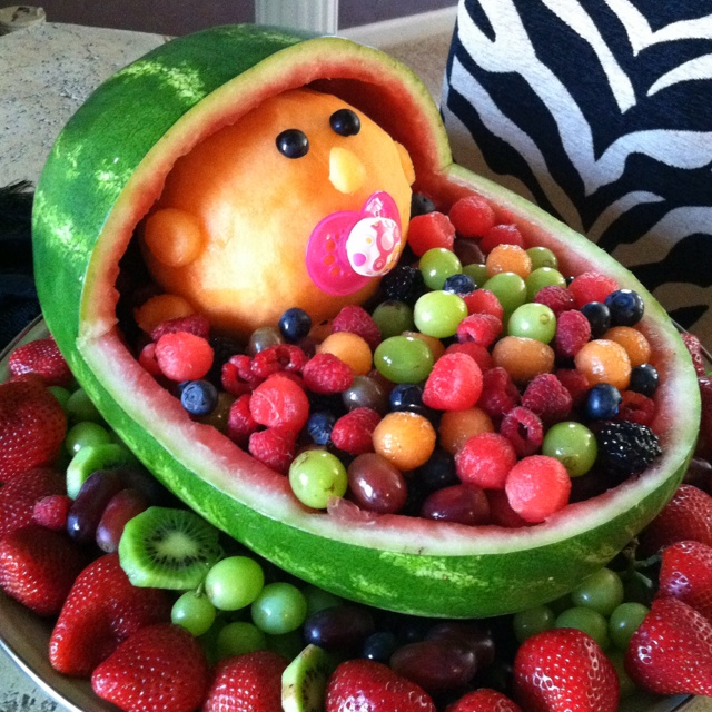 baby baskets baby things fruit salads baby ideas shower ideas the one
