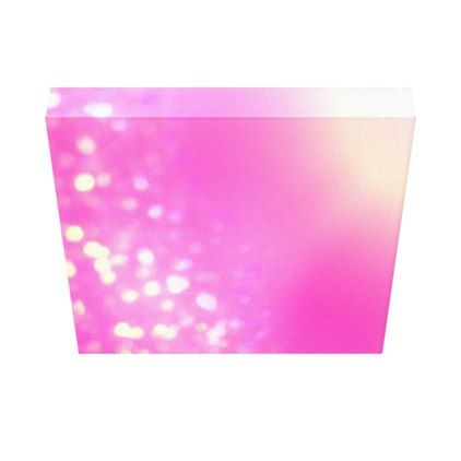 Pretty Pink Canvas Art - girly gift gifts ideas cyo diy special unique