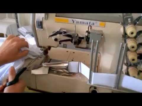 Como fazer acabamento em camiseta - YouTube