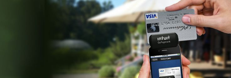 Intuit GoPayment - iPhone credit card processing for mobile payments.  Free credit card reader and app.