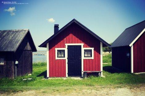 Maison de pêcheur suédoise