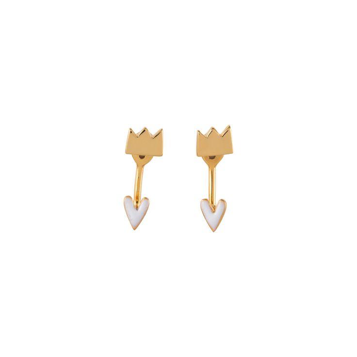 Boucles d'oreille Balancier Cendrillon | Grizzly Chéri