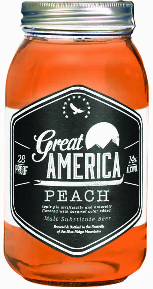 Great America Peach 30 proof Moonshine | Dranky Dranks ...