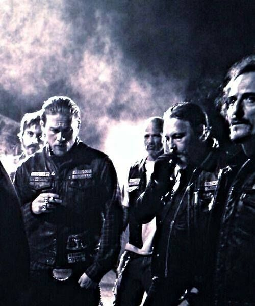 season 7 is coming..nothing I like better then a group of men in leather