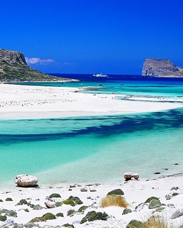 Crete , Greece. the water really is this blue...and completely transparent...you can see all the little fish