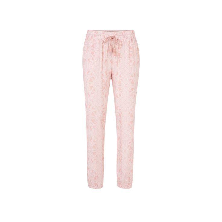 Pantalon rose pâle bandhaniz;${refinementColor}
