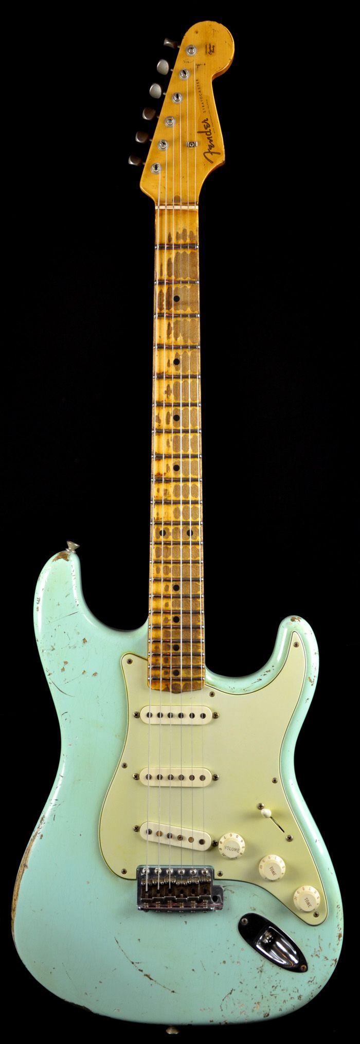 Fender Custom Shop 1956 Heavy Relic Stratocaster Surf Green