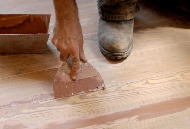 In my last column, I discussed ways to spot-treat the worn finish on old wood floors. This week, I want to talk about another wood floor pet peeve: the tendency for slim gaps to appear between floor boards, when the aging...