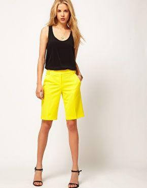 Shorts largos de vestir de ASOS
