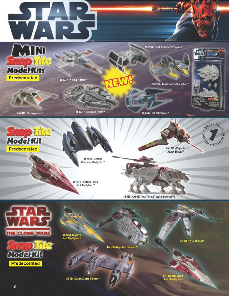 Page 8 - Revell Monogram Catalog 2012 - Plastic Kits - Model Kits - Scale Modeling