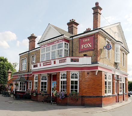 The Fox Pub, Hanwell, London