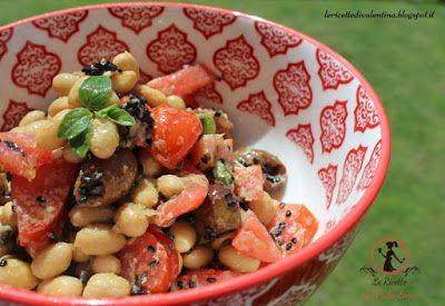 Le Ricette di Valentina: Insalata di soia mediterranea