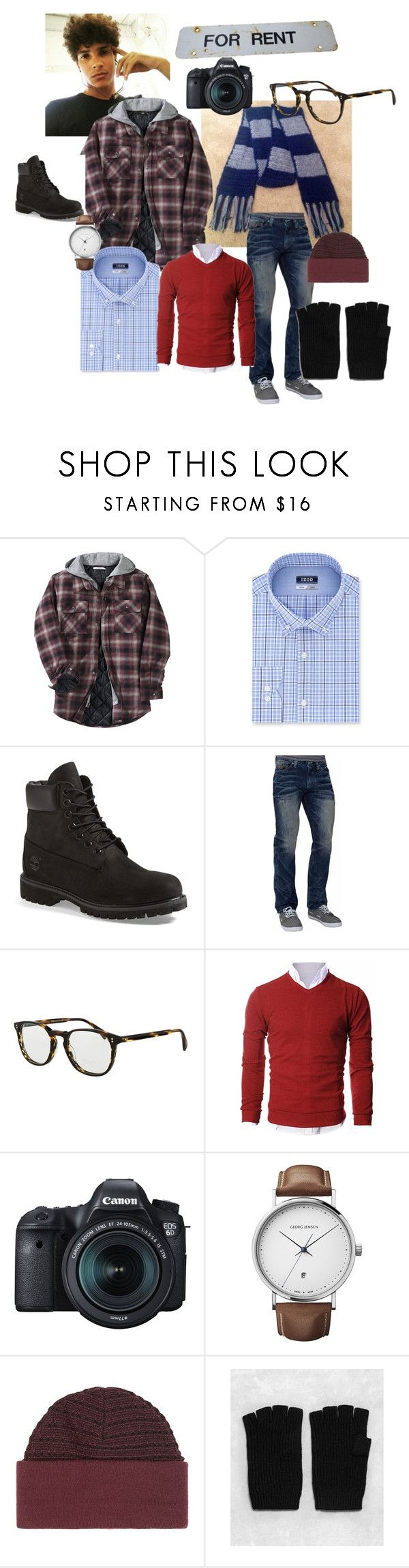 """Mark Cohen (Rent)"" by seven-weasels ❤ liked on Polyvore featuring Other, Izod, Timberland, Affliction, Oliver Peoples, Eos, Georg Jensen, Topman, AllSaints and men's fashion"