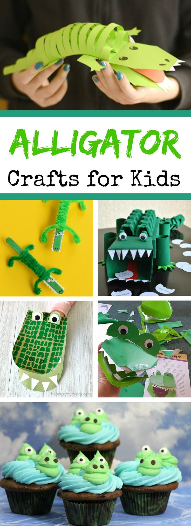 Alligator Crafts for Kids - 8 exciting, yet fun &…