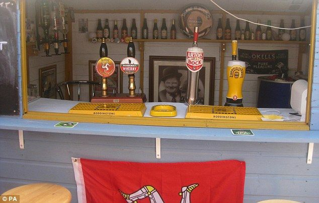 Nice selection: The Lockett Inn has a choice of beers on tap, including home brew, one lager and one local ale as well as a bottle beers dat...
