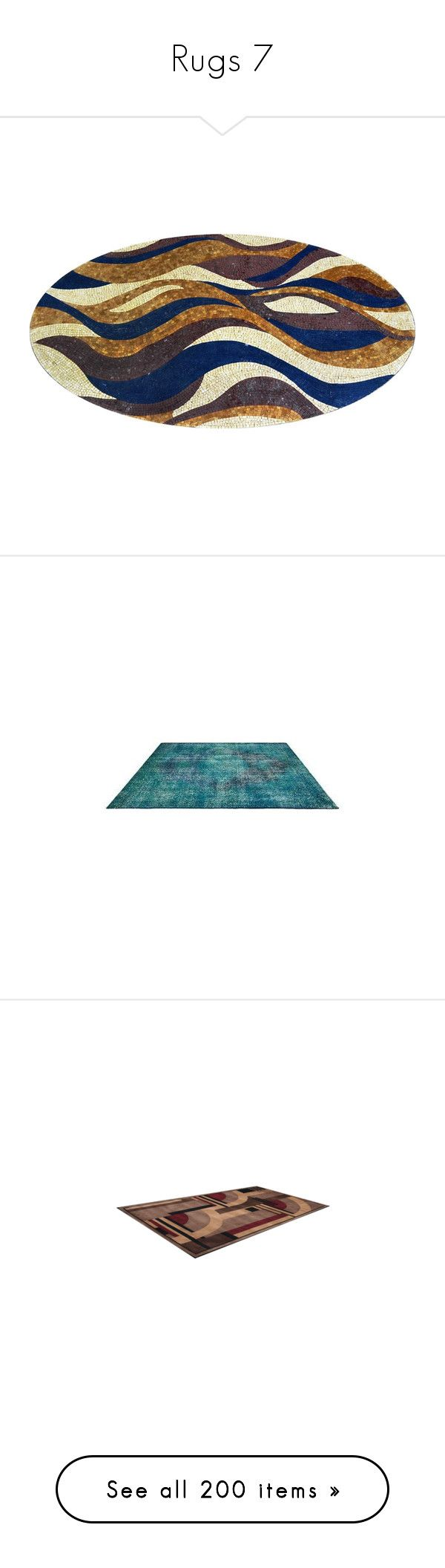 """""""Rugs 7"""" by mysfytdesigns ❤ liked on Polyvore featuring home, rugs, teal blue rug, teal green area rugs, teal rugs, teal blue area rugs, teal area rug, alfombra, tapete and tappeti"""