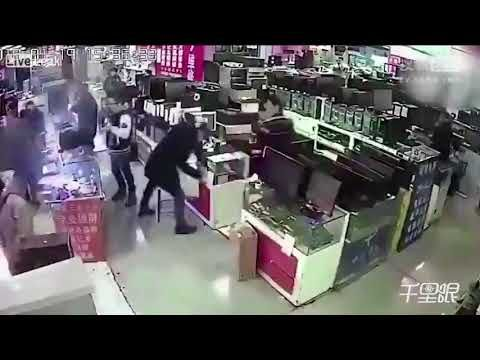"""He bites a smartphone battery that ... explodes  We sincerely hope that this video won't create a replacement """"challenge"""" on ..."""