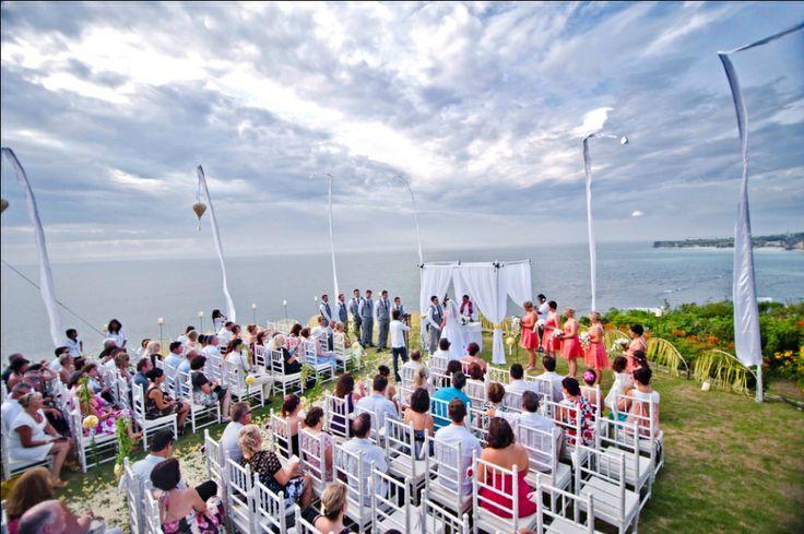 Our client's #weddingceremony  -  #weddings - #bali - #baliwedding - #baliweddingplanner - http://lilyweddingservices.com/