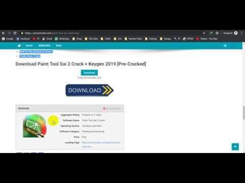 download paint tool sai full version 2019