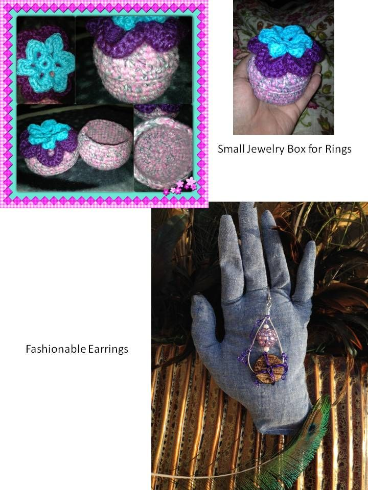Custom Small Jewelry Box Specify color combos