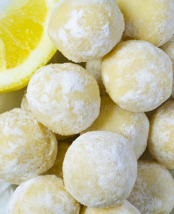 Лимонные трюфели с белым шоколадом – маленькое освежающе-сладкое чудо