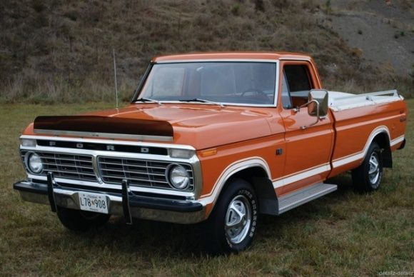 I learned to drive on this exact truck...same color....1973 Ford F100 Explorer Pick Up Truck For Sale