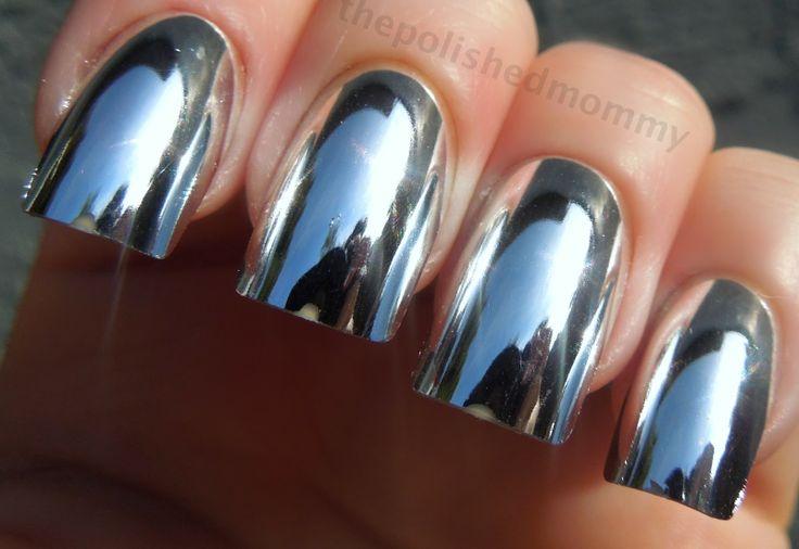 Sally Hansen Color Foil nails | nails | Pinterest | Colors ...