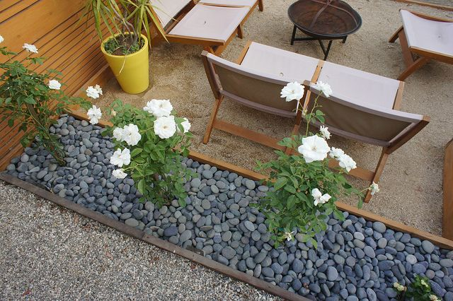 Decomposed Granite Patio | Click here to see posts of the backyard in various stages.