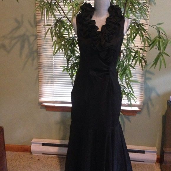 Xscape Black Mermaid Dress Xscape Black Mermaid Dress. NWT. Sz(14). Excellent condition.                                                     Same/Next day Shipping  Pay Pal  Trades  No Haggling   Free home  Free home  Thanks for checking out my closet  SweetLady Xscape Dresses