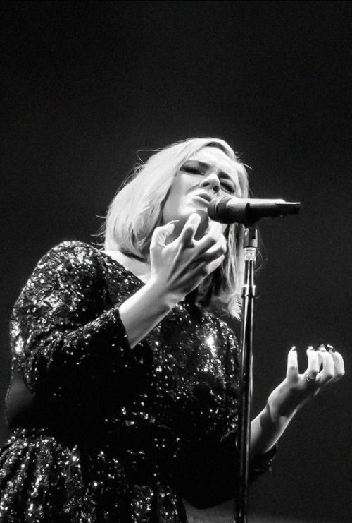 fuckyasadele:  Adele performs on stage at the SSE Arena Belfast on March 1, 2016
