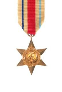 The Africa Star obverse view