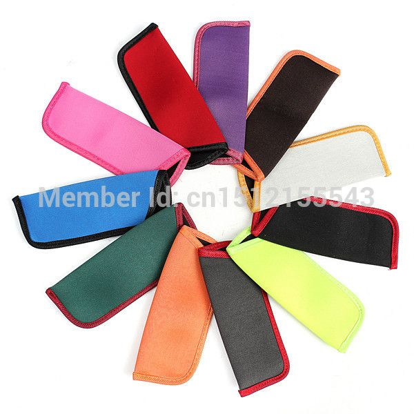 11-Candy-Colors Glasses Pouch Spectacles Eyeglass Case Cosmetic Pen Pencil Bag Free Shipping