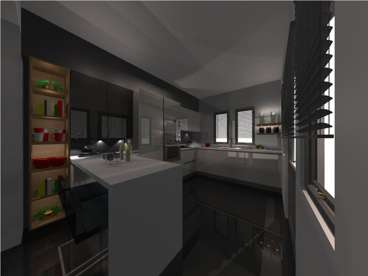 3D BY KITCHEN GALLERY IGOUMENITSAS PRIVATE HOUSE IN SIVOTA