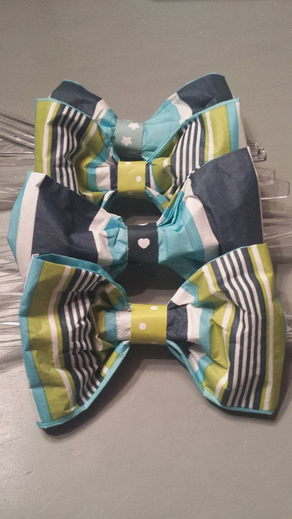 Bow tie napkins w/cutlery bowtie napkins baby by ElishaChristene