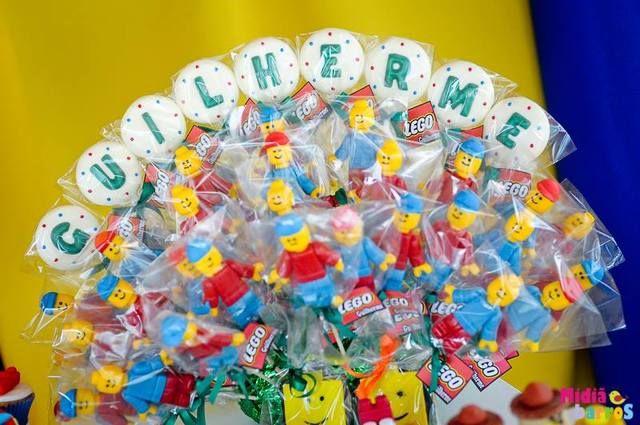 """Photo 6 of 28: Lego City / Birthday """"Sheriff Guilherme"""""""