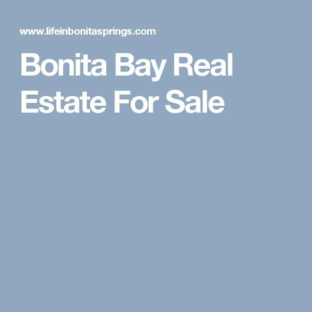 Bonita Bay Real Estate For Sale