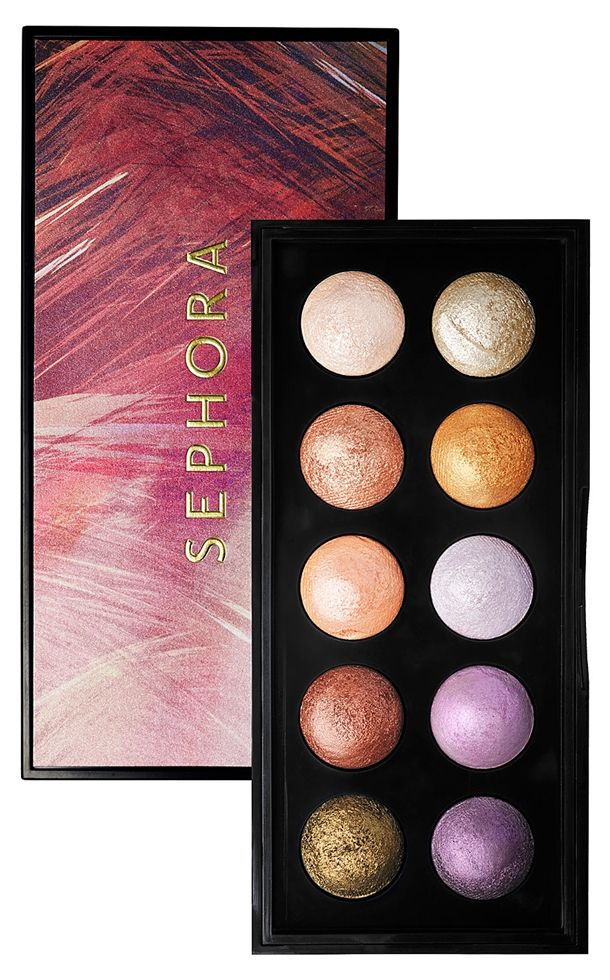 Sephora In the Tropics Moonshadow Baked Palette Makeup