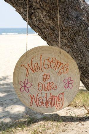 Bienvenidos a mi boda.