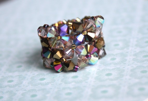 Swarovski Crystal Ring Jerusalem Treasures by TeruAmaro on Etsy, $30.00: Perfect Giftabl, Crafts Ideas, Crystals Rings, Rings Jerusalem, Crystal Ring, Swarovski Crystals, Jewelry Ideas, Jerusalem Treasure