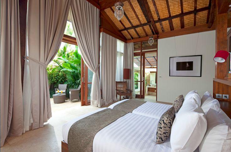 One of the 3 beautiful bedrooms in Villa Amy  @Dea Villas  #Bali #DeaVillas #Amy #Indonesia #bedroom #homedecor