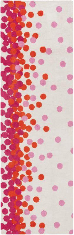 Surya ABI-9051 Abigail Power Loomed Polypropylene Rug Pink 8 x 11 Home Decor Rugs Rugs