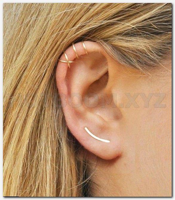 Helix piercing entzundet
