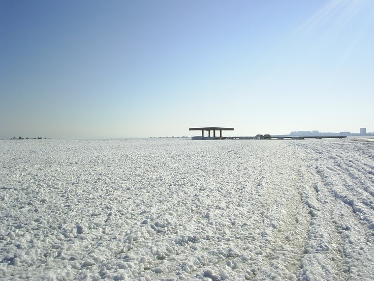 Black Sea frozen 2005!