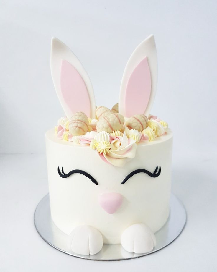 Easter cake inspo... The cutest bunny cake!!