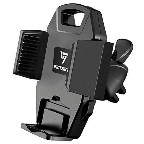 VicTsing Support Voiture Auto Universel à Grille de Ventilation Air Vent Fixation Support Téléphone Voiture Portable à 360 Degré Rotatif…
