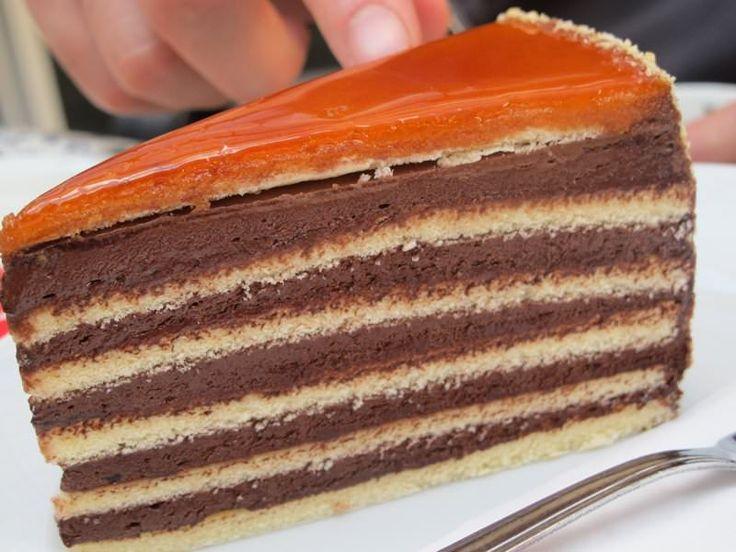Posna doboš torta