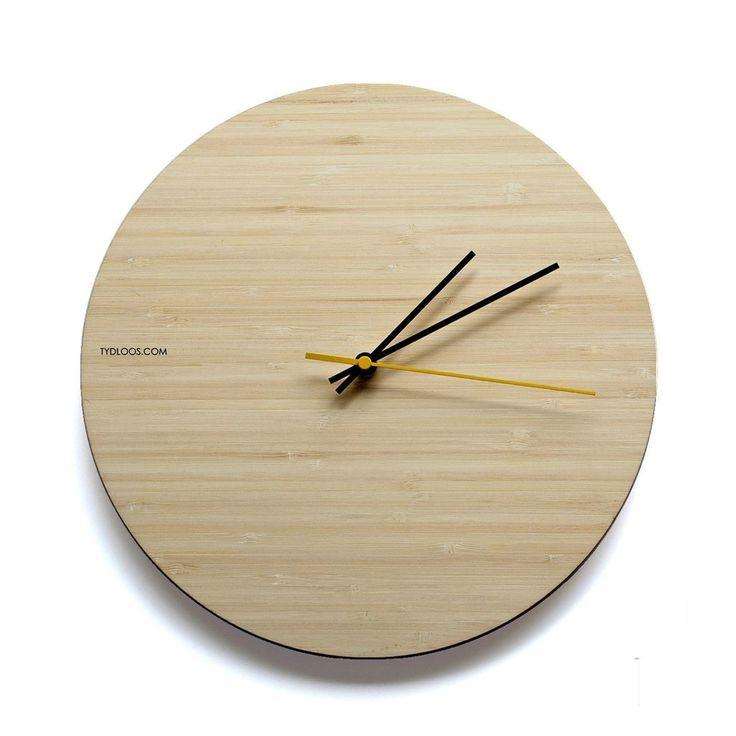 Natural Bamboo Wall Clock