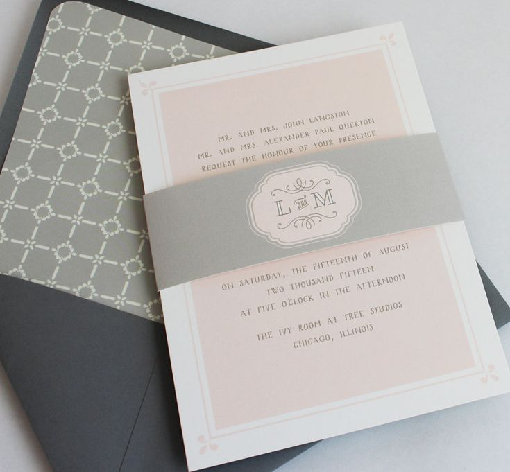 39 best Wedding - Invitations images on Pinterest | Invitation ...